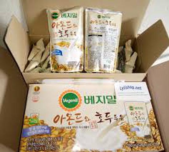 Sữa óc chó hạnh nhân ( 10 túi)