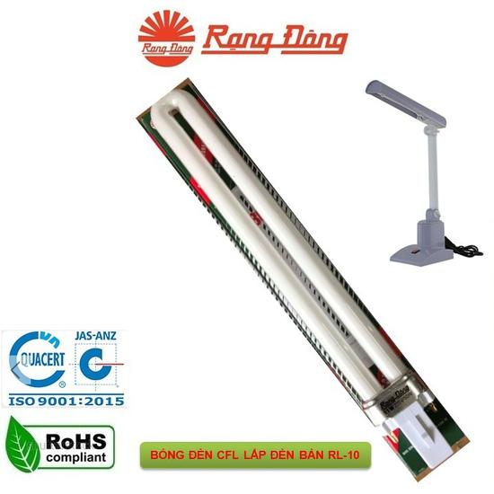 Bóng đèn compact Rạng Đông lắp cho đèn học RL-10