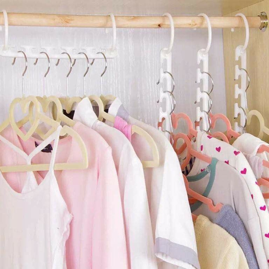 Móc treo đồ, quần áo thông minh tiện ích.