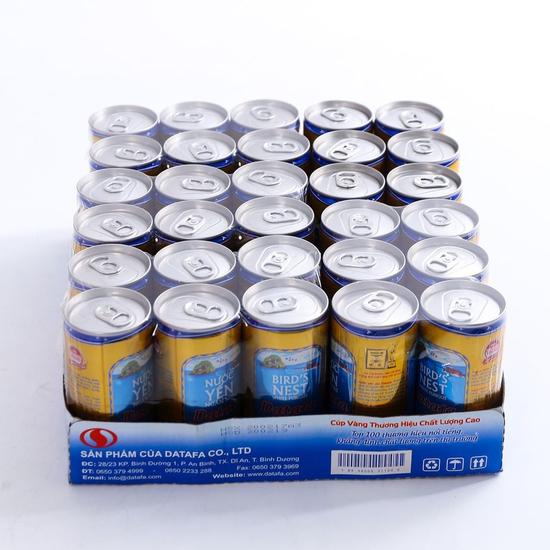 3 lốc nước yến Ngân Nhĩ Datafa (5 lon/ lốc)