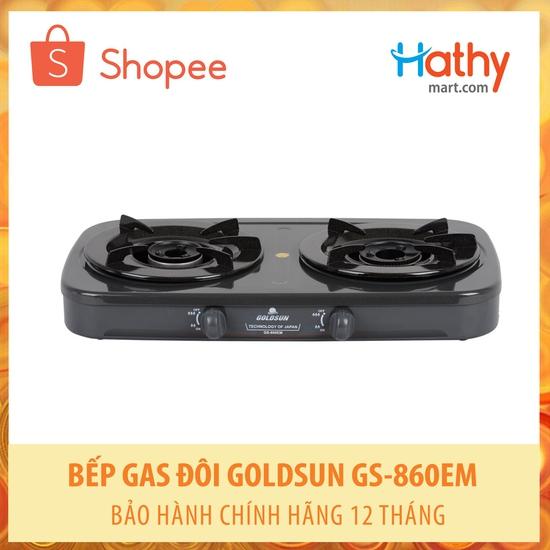 Bếp ga đôi Goldsun GS-860EM Bảo hành 12 tháng