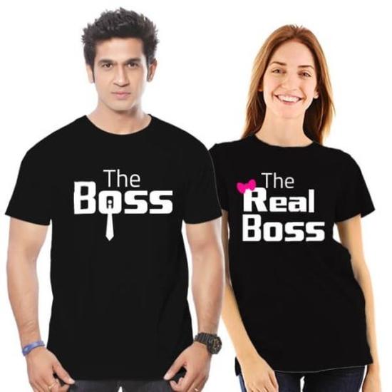 The Boss & The Real Boss_  Aó đôi