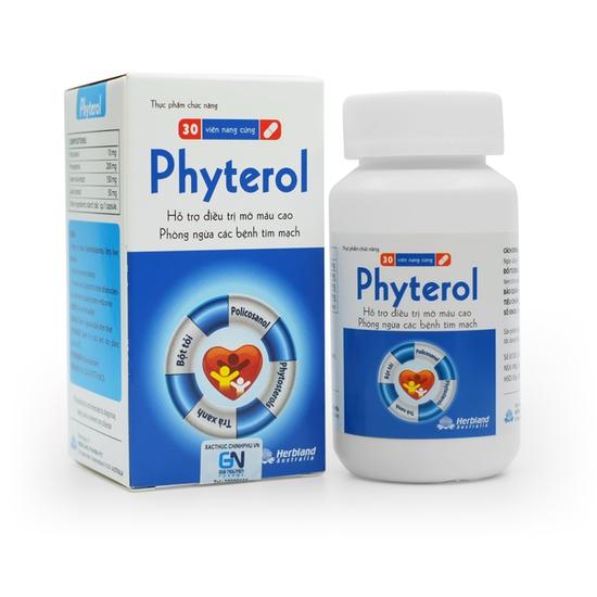 TPBVSK Viên uống hạ Cholesterol phòng ngừa tai biến Phyterol