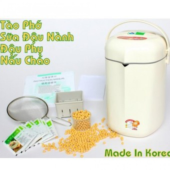 Máy làm sữa đậu nành Soylove IOM-201A 1.3L (Trắng ) - Hàng nhập khẩu