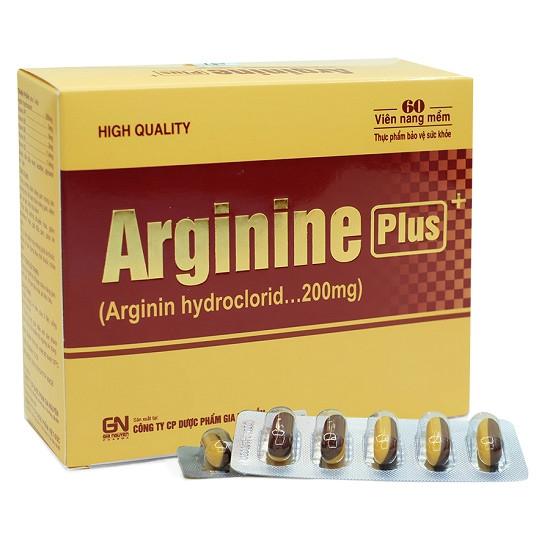 TPCN Viên bổ gan Arginine Plus - Hộp 60 viên