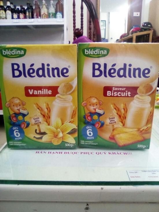 Bột Pha Sữa Blédina 500g Pháp Cho Trẻ Từ 6 Tháng Trở Lên