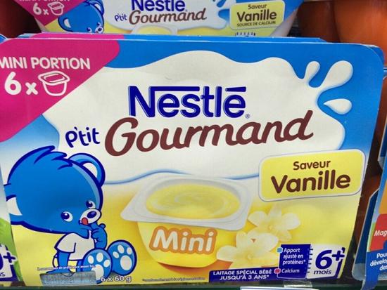 Váng Sữa Nestle Vỉ 6Hộp=400g Cho Trẻ Từ 6 Tháng Trở Lên Pháp