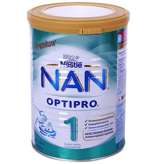 Sữa Bột Nan 400g/Hộp Số 1-2 Nga