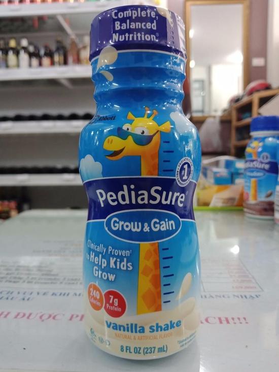 Sữa Nước Pediasure Grow 237mlx24Chai Hương Vanilla Mỹ