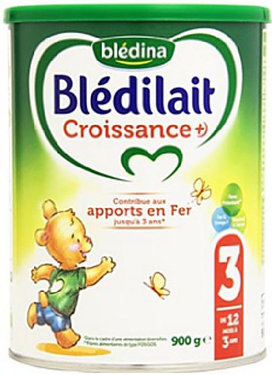 Sữa Bột Blédilait 900g/Hộp Số 3 Cho Trẻ Từ >12 Tháng Pháp
