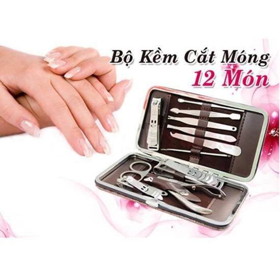 Bộ kềm cắt móng tay 12 món