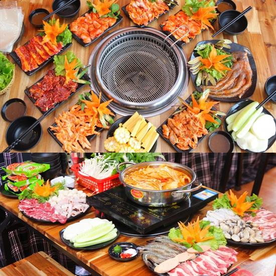 Buffet Nướng Hoặc Lẩu Ăn Thả Ga - Nhà Hàng Lẩu Nướng Sài Gòn