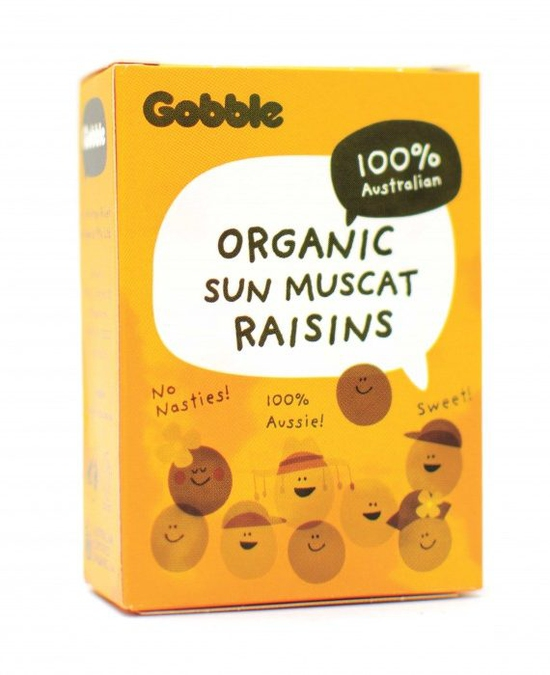 Gobble – Nho hữu cơ Muscat hộp 6*35g