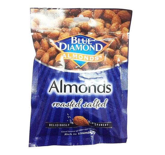 COMBO 3 gói Hạnh nhân rang vị muối Blue Diamond gói 30g