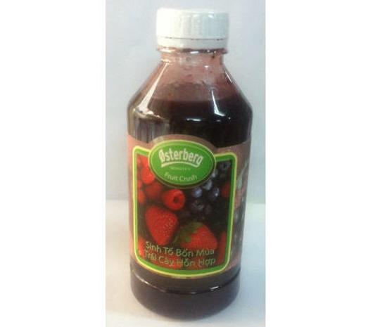 Sinh tố trái cây hỗn hợp Osterberg Mixed- chai 1L