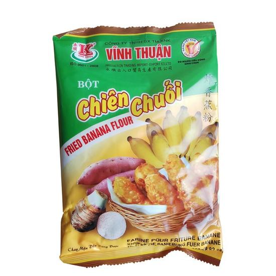 Bột chiên chuối, khoai, củ quả Vĩnh Thuận 250g