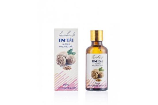 Tinh dầu nhục đậu khấu – nutmeg oil 10ml