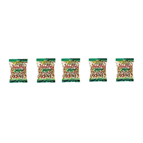 COMBO 5 GÓI 2.Đậu Hà Lan vị tiêu tỏi Nut Walker gói 5* 45g