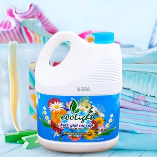 Nước giặt quần áo cao cấp Ecolight 3.6L - hàng VN