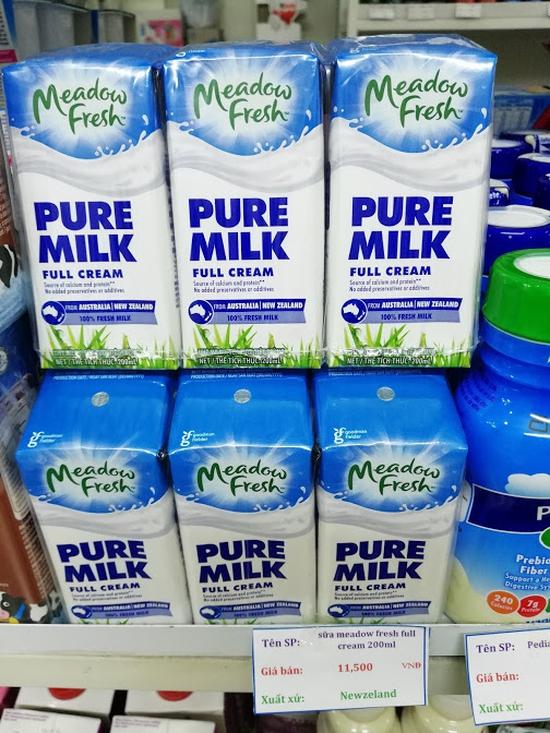 Sữa Meadow Fresh Thùng 200mlx24Hộp Nguyên Kem New Zealand