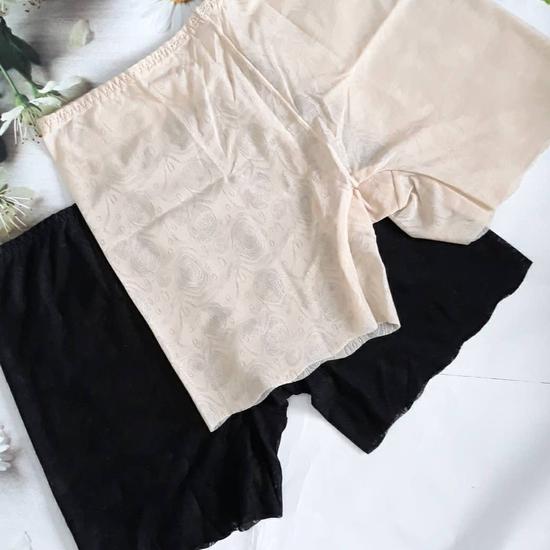 Combo 2 quần mặc trong váy chất liệu ren Nhật Bản