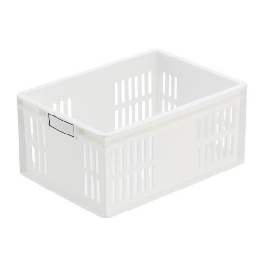 Giỏ nhựa cá nhân trắng dài 148cm