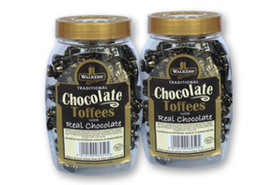 Kẹo Chocolate Toffees (Real Chocolate) 300Gr