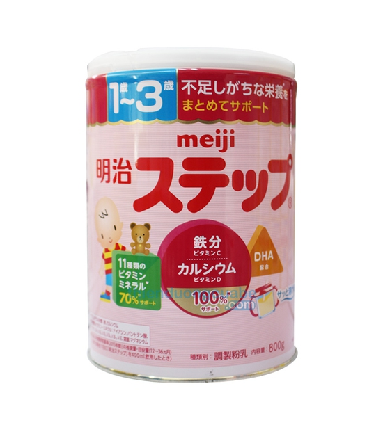 Sữa bột Meiji số 9 (800g) cho trẻ từ 1-3 tuổi