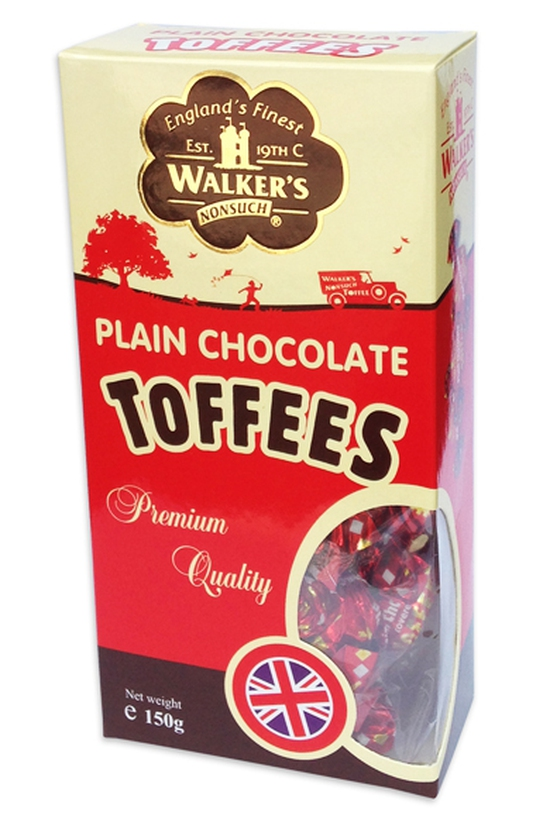 Kẹo Toffees Plain Chocolate 150Gr