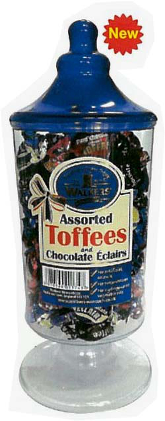 Kẹo Toffees Asstosted Blue Jar 600Gr