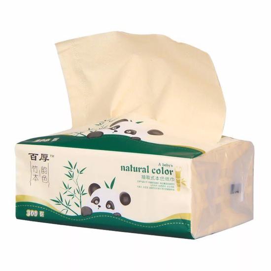 1 thùng giấy ăn gấu trúc( xanh) ( 1 thùng 27 gói)