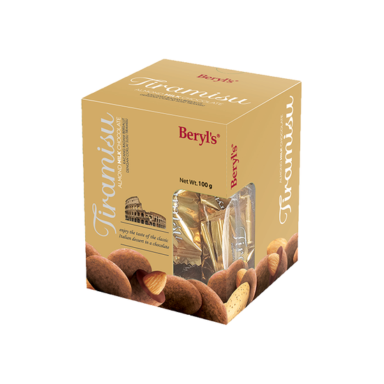 Chocolate Beryl's Tiramisu Almond Cappuccino 100g