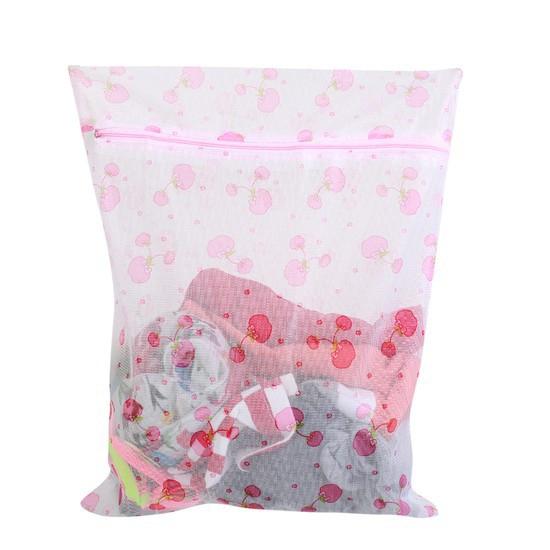 Combo 2 túi lưới giặt đồ to 50x60 cm in hoa