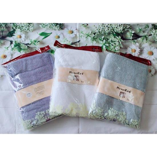 Khăn tắm cotton Nhật Bản Kt 70*140cm