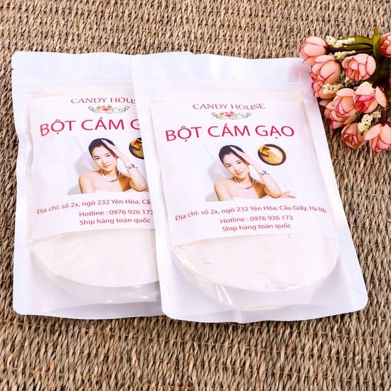 2 gói bột cám gạo nguyên chất Candy House 250g/1goi