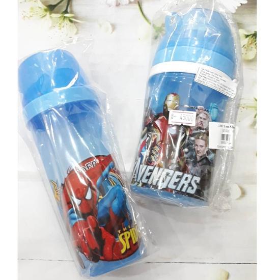 Bình đựng nước Spideman, Avengers cho bé trai