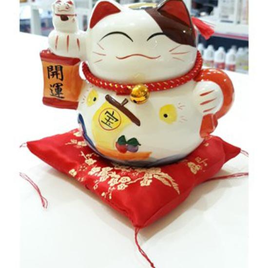 Mèo thần tài khai vận may mắn Nhật Bản (mèo đút được tiền)