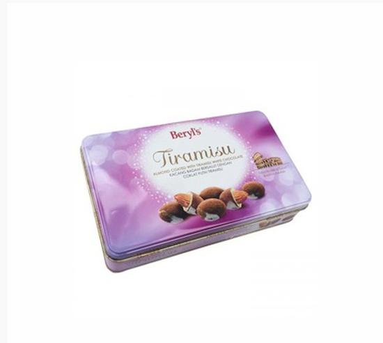 Sôcôla Tiramisu Almond White 100g (hộp thiếc)