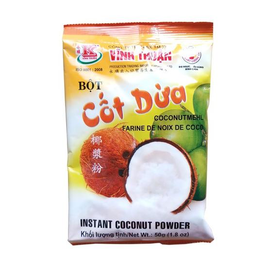 Bột cốt dừa Vĩnh Thuận gói 50g