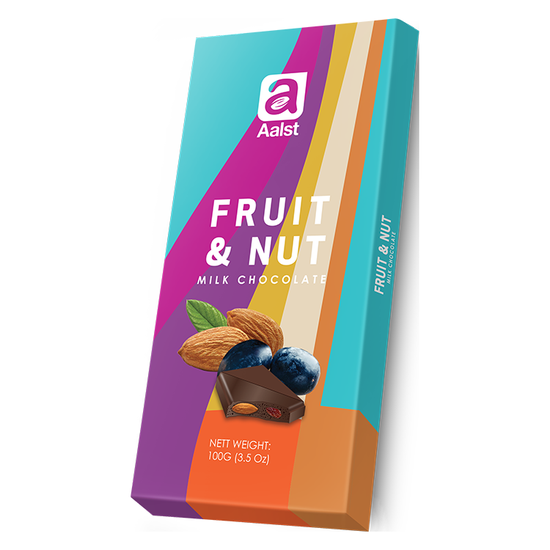 Aalst Chocolate Whole Fruit & Nut 100gr