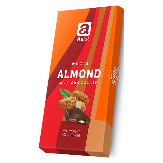 Sô cô la Aalst Almond 100g