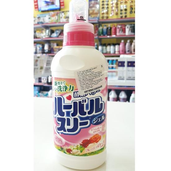 Nước giặt trung tính Mitsuei hương hoa hồng Nhật Bản 450ml