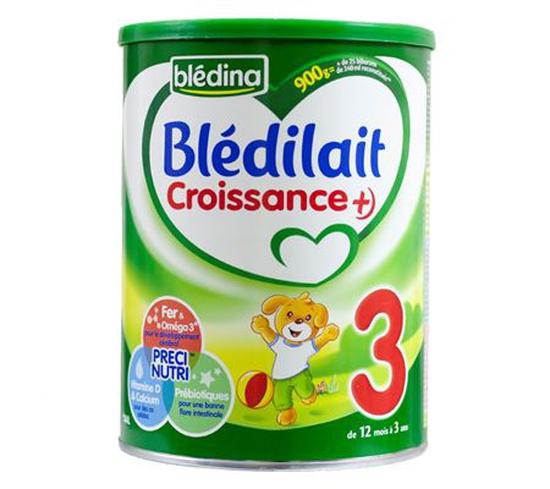 Combo 2 Hộp Sữa Bột Blédilait 900g/Hộp Pháp