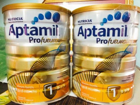 Combo 2 Hộp Sữa Aptamil 900g/Hộp Số 1/4 Úc
