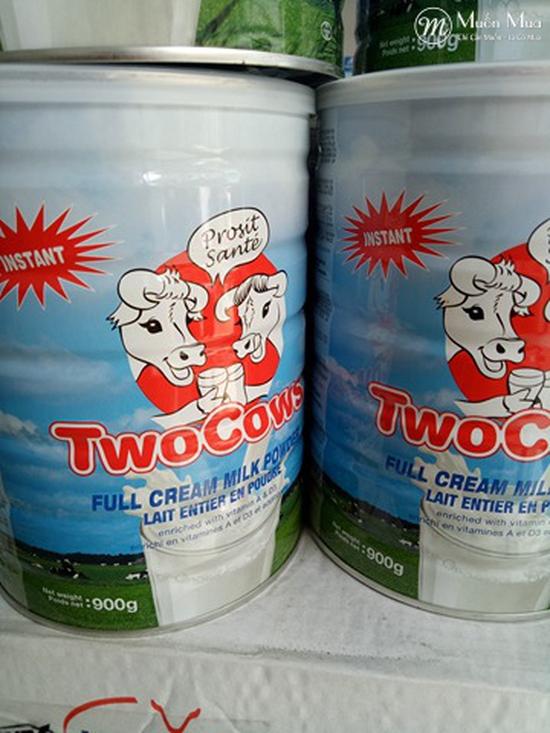 Combo 2 Hộp Sữa Bột Two Cows 900g/Hộp Hà Lan Sale 1/6-30/6