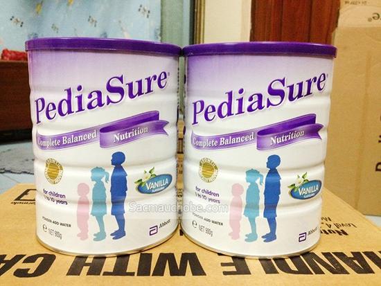 Combo 2 Hộp Sữa Bột Pediasure 850g/Hộp Úc