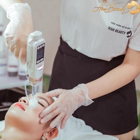 Điều trị mụn chuyên sâu Medic Plus - Giá cực HOT Viện thẩm mỹ và đào tạo Han Beauty