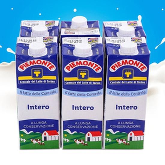 COMBO 6 HỘP Sữa tươi tiệt trùng nguyên kem Piemonte Ý 250ml