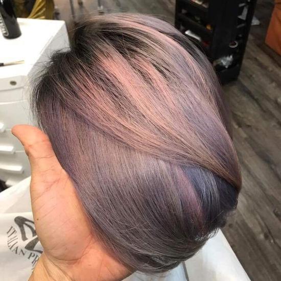 Trọn gói Cắt gội + hấp phục hồi OLPELEX siêu mượt Quốc Hưng Hair Salon