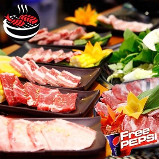 Mr.Yaki - Butffet Nướng Tảng Ngon tuyệt đỉnh - Menu mới Free Pepsi